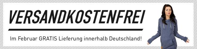 Im Februar keine Versandkosten für Lieferungen innerhalb Deutschland!